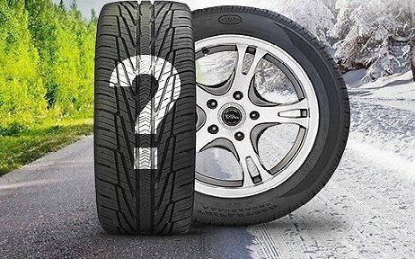 Когда необходимо «переобуваться» в зимние шины? Погодные условия